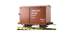 Two Axle Box Car (1 Car)