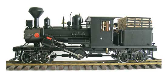 Climax, Two Truck, Mich #4, Live Steam