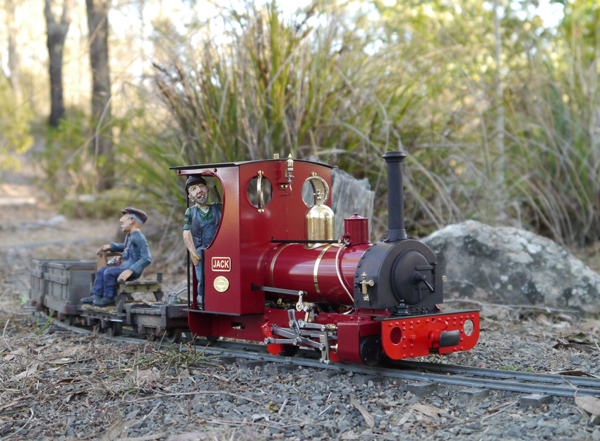 'JACK' a 7/8th scale model designed by Brian Wilson