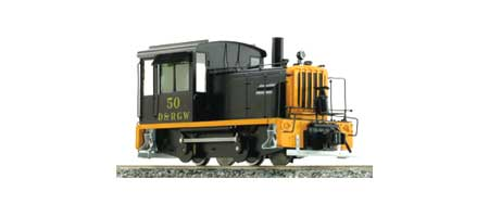 Diesel Switcher - D&RGW #50